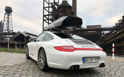 Porsche Approved: Test ALUMINED Roof Box