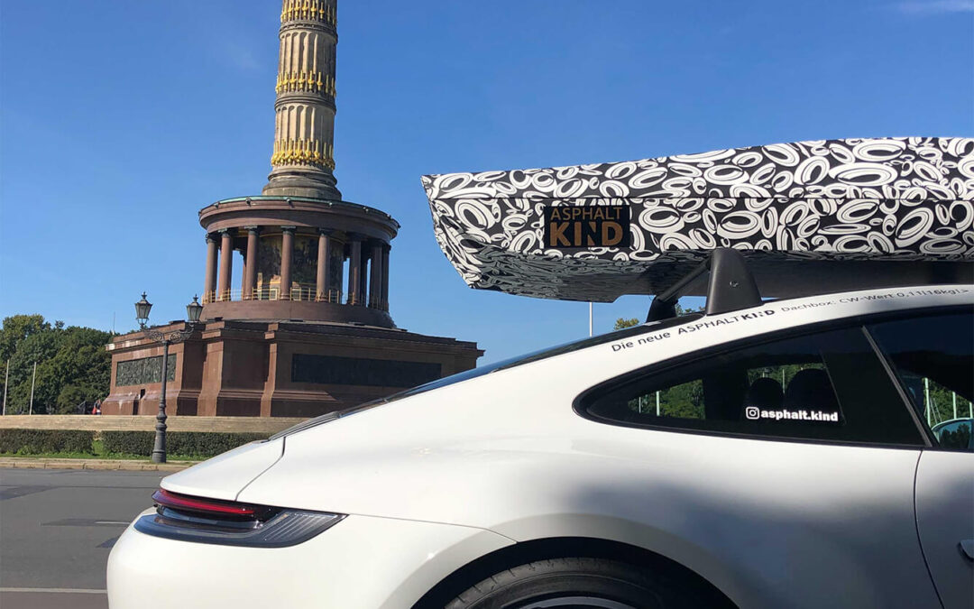 Our first prototype is finished – The first test drives with the ASPHALTKIND roof box