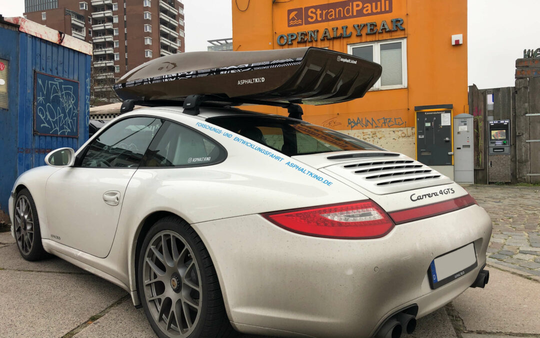 How fast can I drive with an ASPHALTKIND roof box?