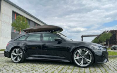 ASPHALTKIND roof box: Developed on 911, built for all – and the Audi RS6